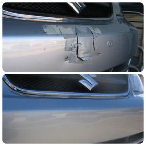 suzuki bumper gouge repair